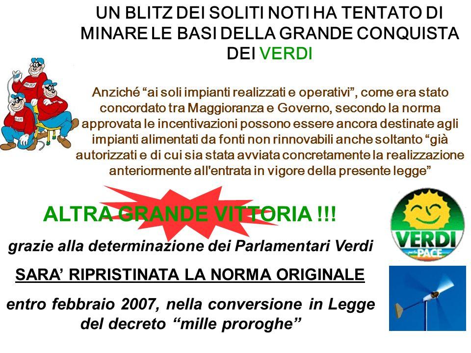 ALTRA GRANDE VITTORIA !!.