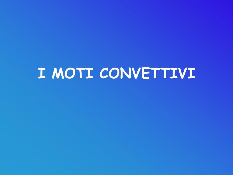 I MOTI CONVETTIVI
