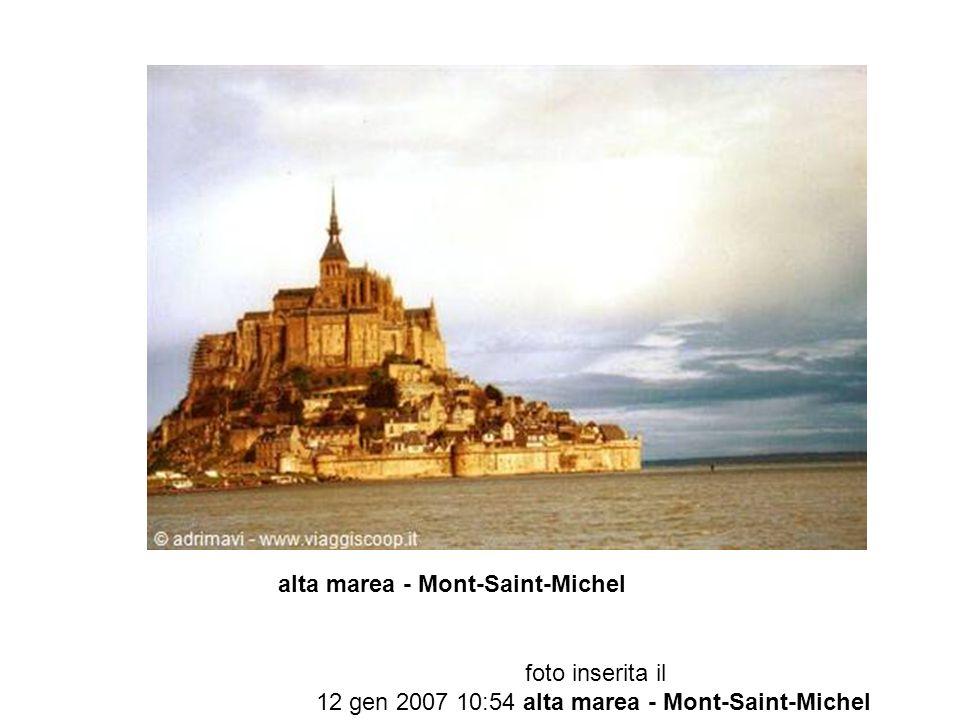alta marea - Mont-Saint-Michel foto inserita il 12 gen 2007 10:54 alta marea - Mont-Saint-Michel