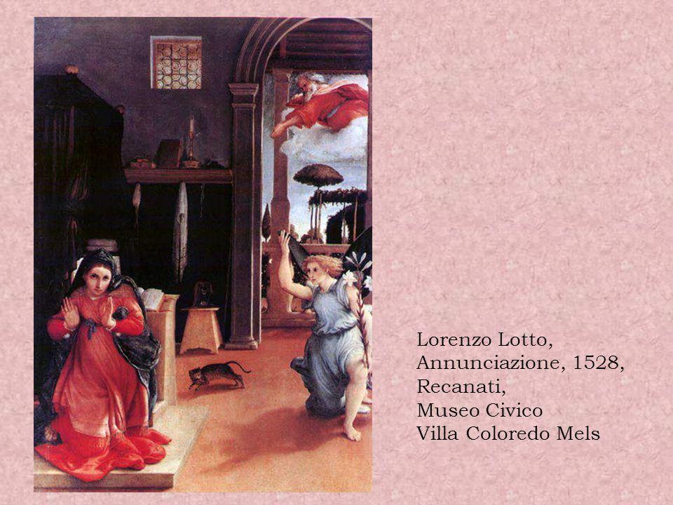 Carlo Braccesco (attribuito) Annunciazione, 1480 circa Parigi, Louvre