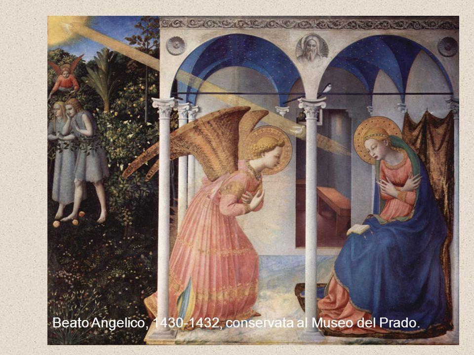 Beato Angelico, Annunciazione, Firenze, Museo di San Marco