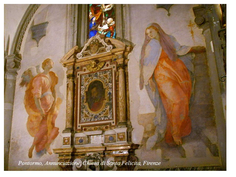 Sandro Botticelli: Annunciazione - 1489-1490 tempera su tavola; 150 x 156 -Firenze, Galleria degli Uffizi