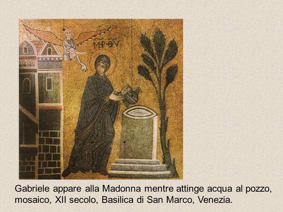 Annunciazione mosaico Basilica di Monreale Palermo