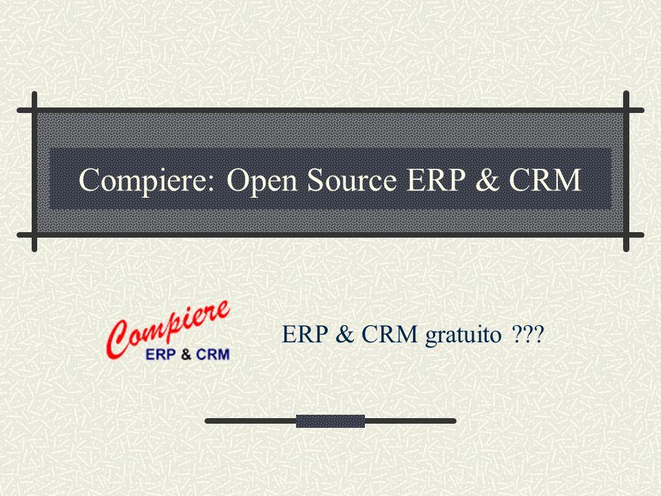 13 Dic 2002MiriSoft - Business Solutions based on Free Software2 Agenda Compiere ERP & CRM Perche e cosa e gratuito Cosa non e gratuito Case Study MiriSoft