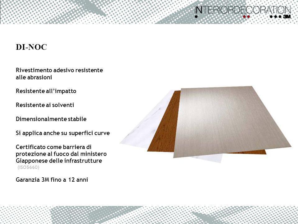 Rivestimento adesivo resistente alle abrasioni Resistente allimpatto Resistente ai solventi Dimensionalmente stabile Si applica anche su superfici cur