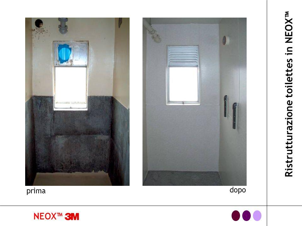 NEOX Ristrutturazione toilettes in NEOX