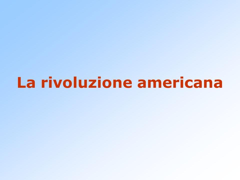 La rivoluzione americana