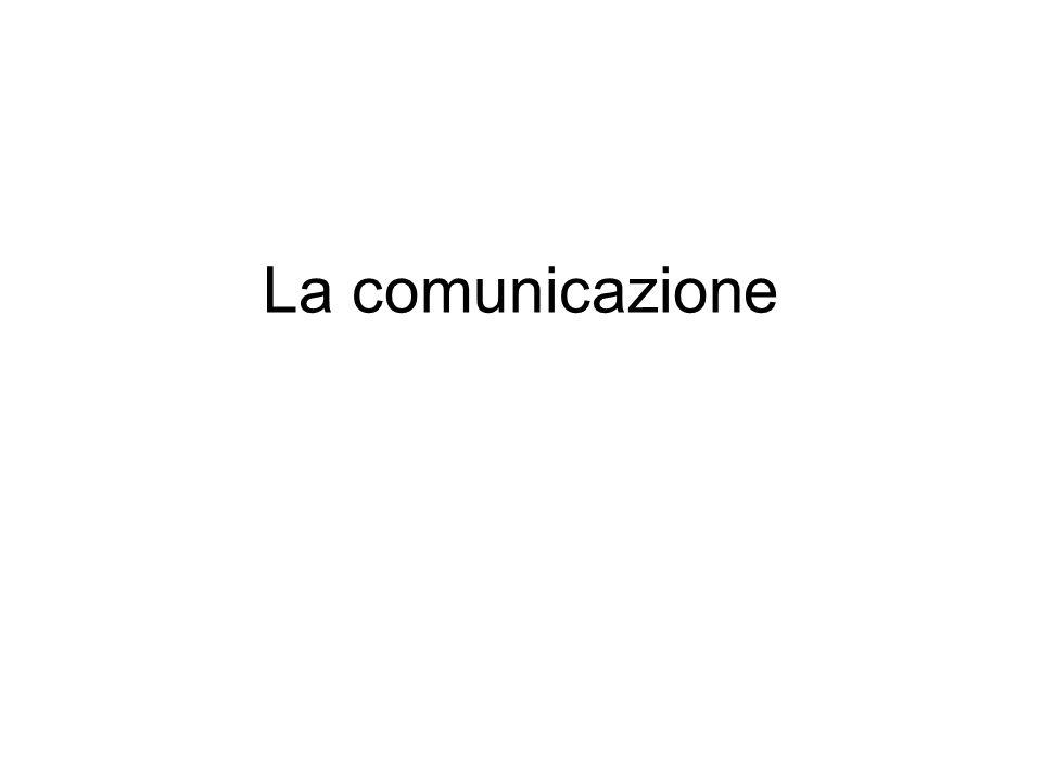 La comunicazione umana ha molteplici dimensioni: è unattività eminentemente sociale è unattività eminentemente cognitiva comunicare è partecipare e condividere i significati è strettamente connessa con lazione Il soggetto umano è un essere comunicante