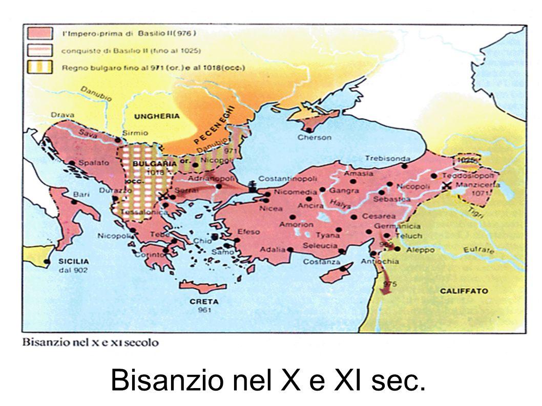 Bisanzio nel X e XI sec.