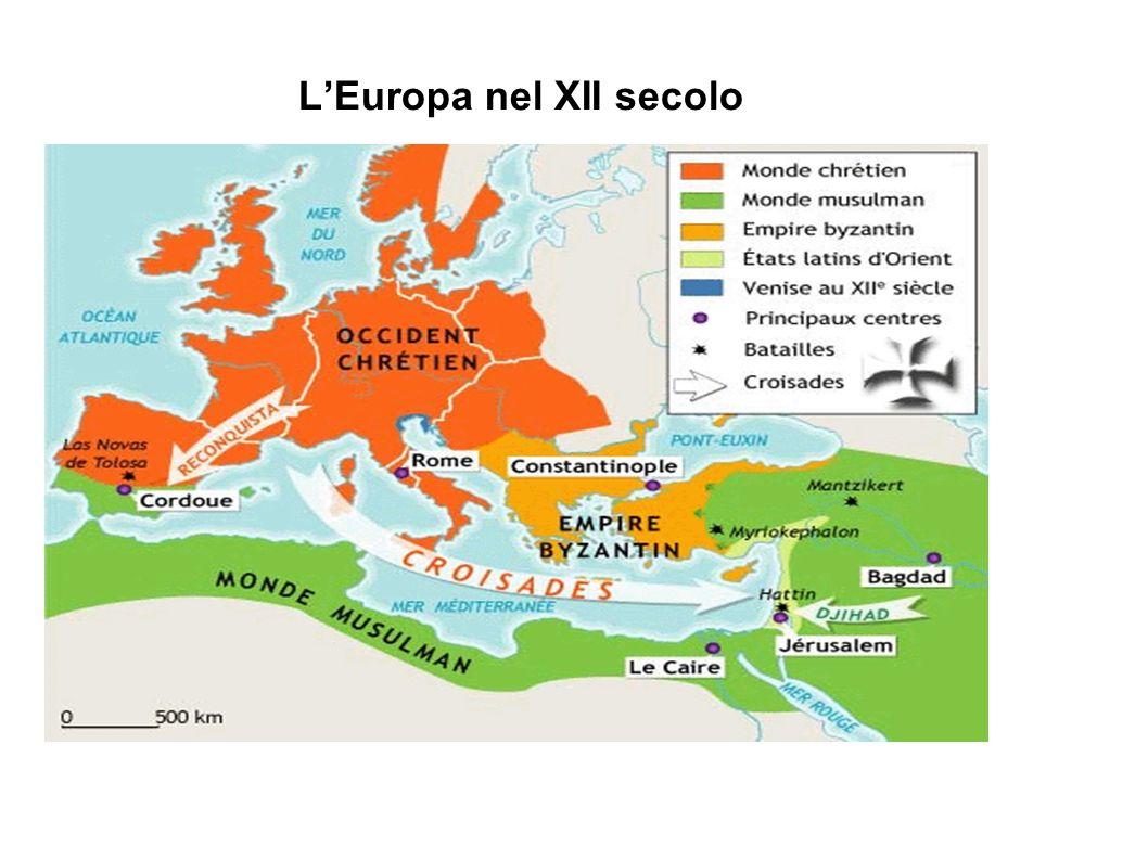 LEuropa nel XII secolo