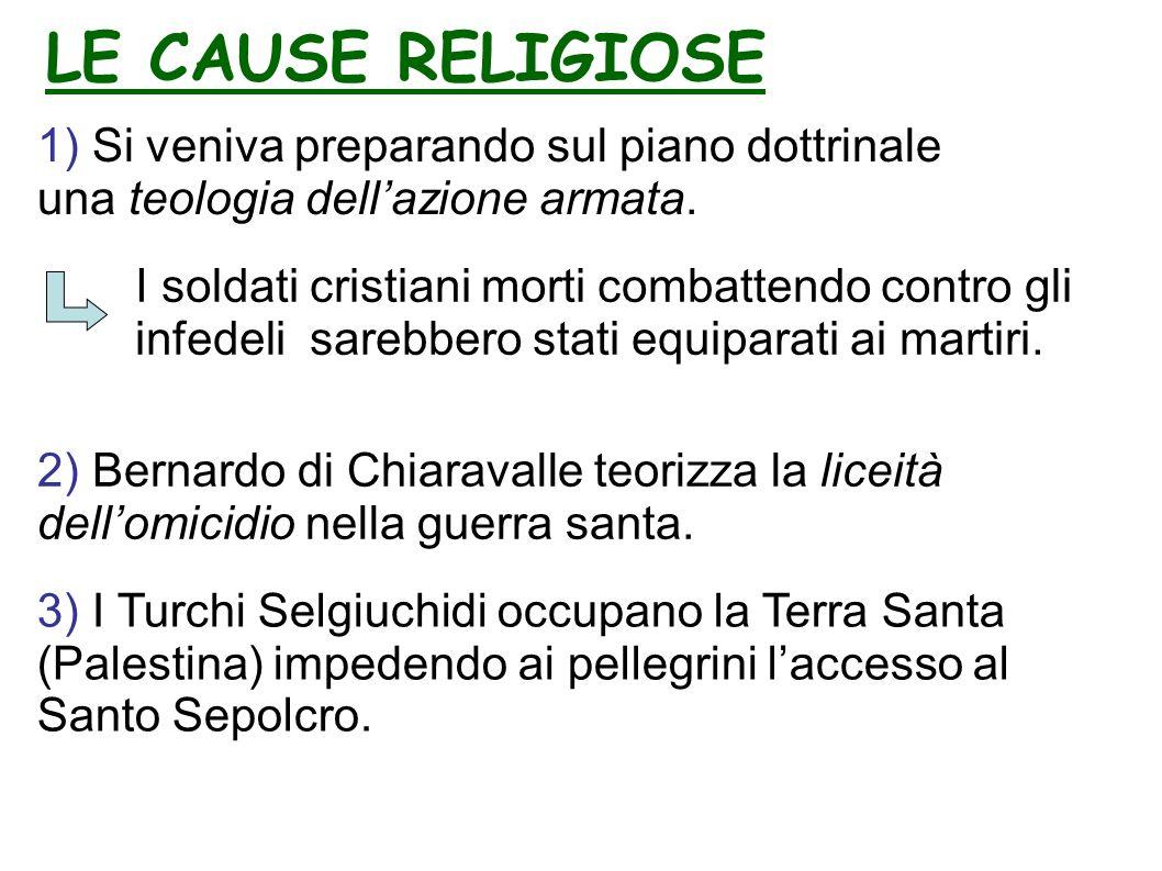 1) Si veniva preparando sul piano dottrinale una teologia dellazione armata.