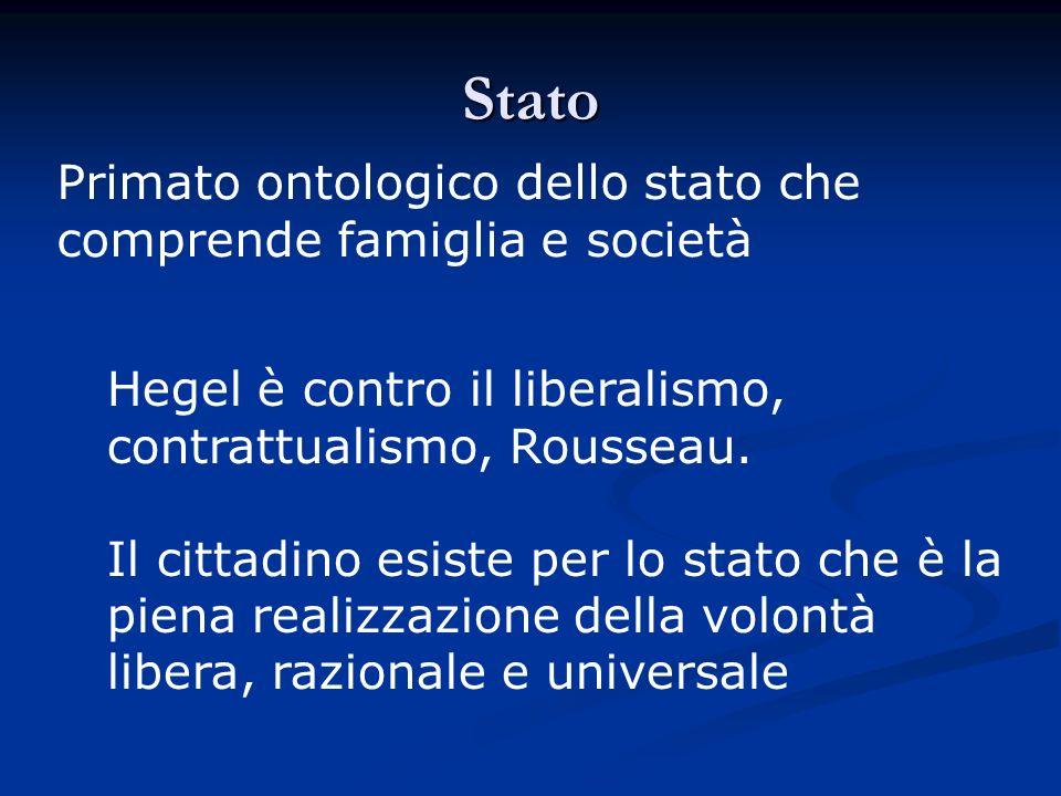 Società E il dominio delleconomia, il sistema dei bisogni e degli interessi particolari, daccordo con A.