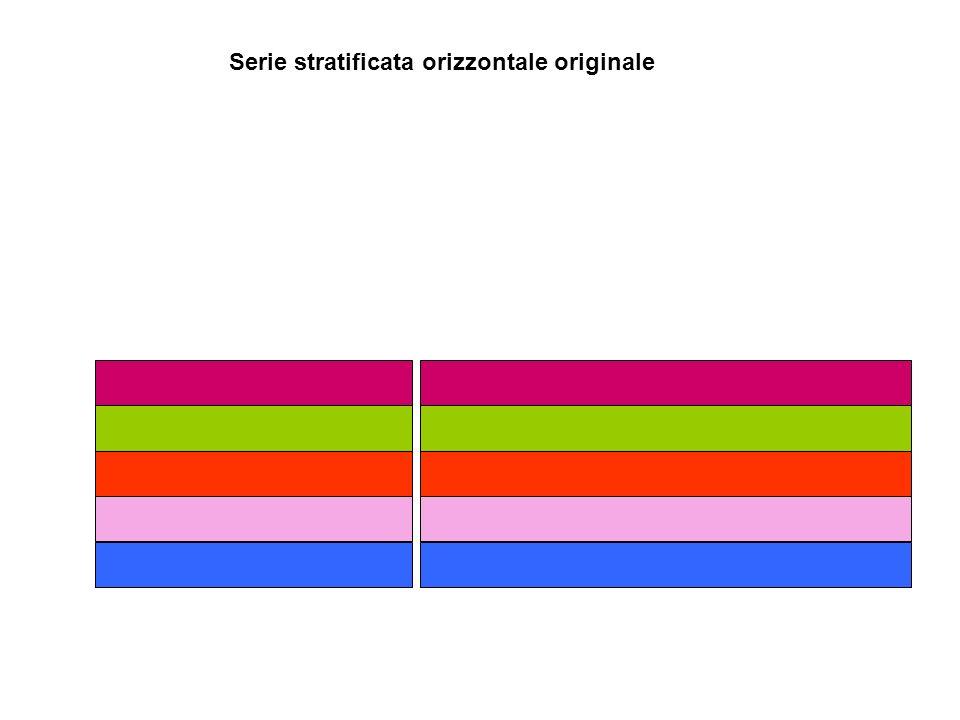 Serie stratificata orizzontale originale