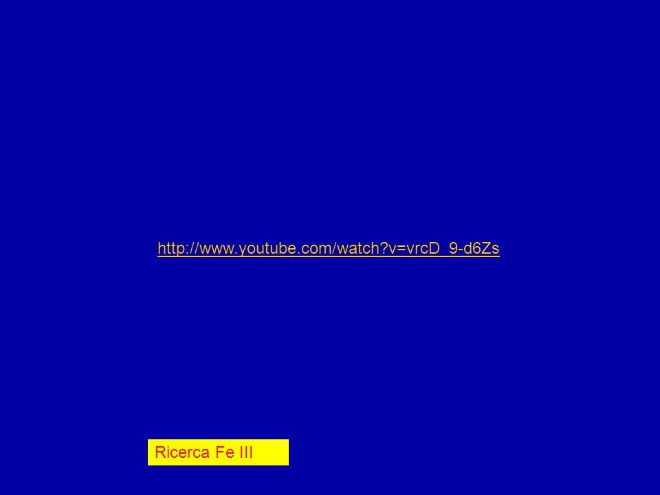 Fe3 Ricerca Fe III http://www.youtube.com/watch?v=vrcD_9-d6Zs