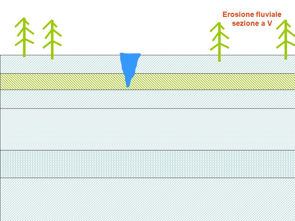 Mentre il ghiacciaio scende cadono dai versanti detriti di varia natura :sui fianchi,al centro,sul fondo I detriti sul fondo contribuiscono alla esarazione e subiscono scalfitture varie