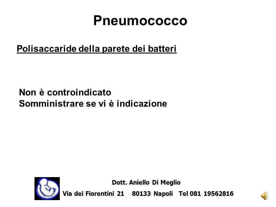 Peste Batteri inattivati Non è formalmente controindicato Non è tuttavia disponibile unesperienza sufficiente in queste situazioni. Indicato in alcuni