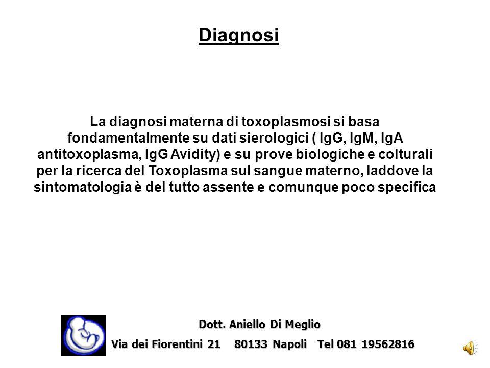 La prematurità ed i bassi punteggi Apgar, sono presenti nel 25-50% dei neonati infetti. Dott. Aniello Di Meglio Dott. Aniello Di Meglio Via dei Fioren