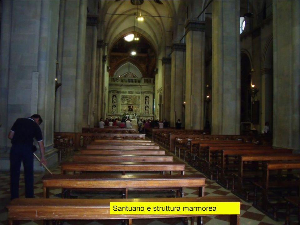 Santuario e struttura marmorea