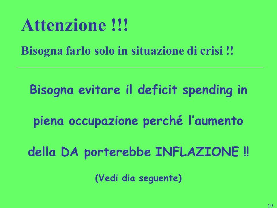 18 14/01/2014 Maria Teresa Porrini Il ruolo economico dello Stato. Quel che è importante per i governi non è fare quello che gli altri già fanno ma fa