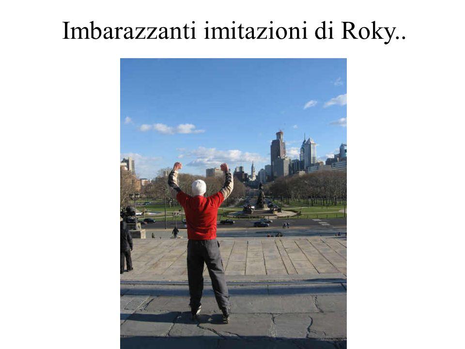 Imbarazzanti imitazioni di Roky..