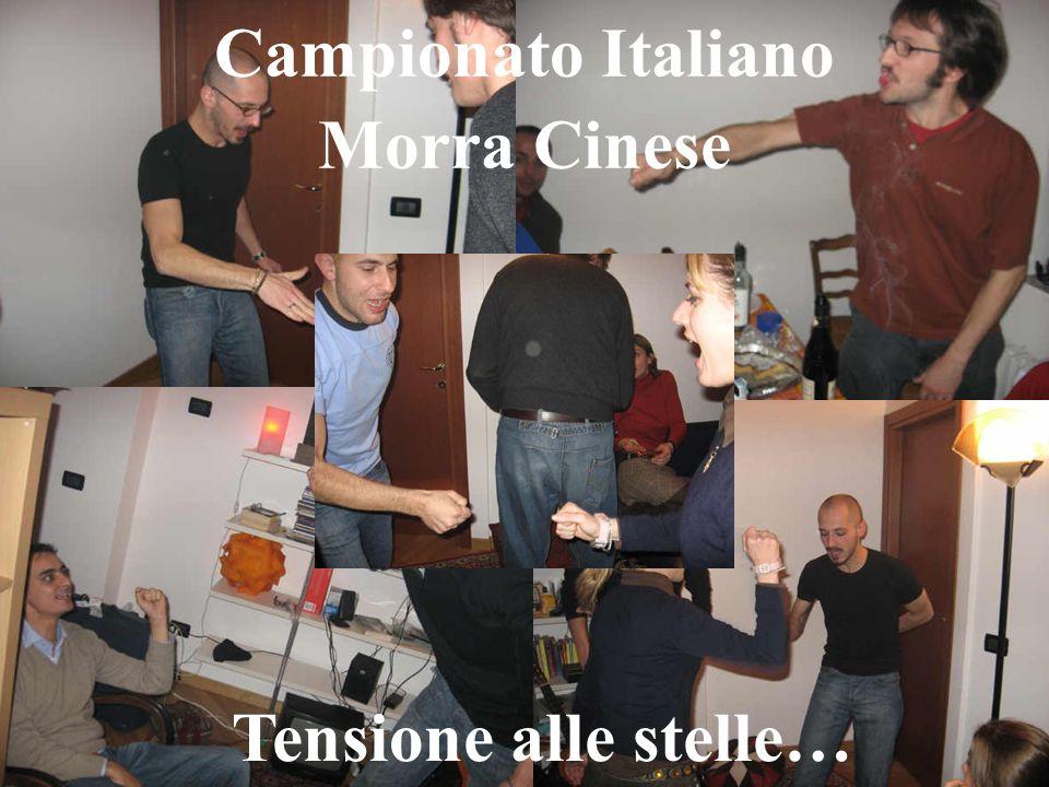 Campionato Italiano Morra Cinese Tensione alle stelle…