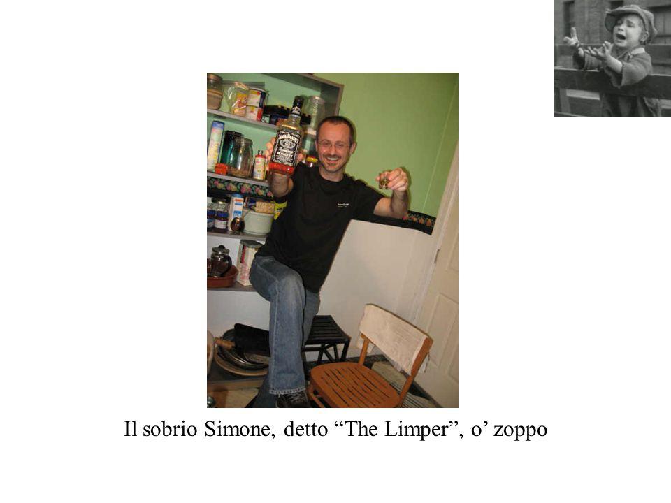Il sobrio Simone, detto The Limper, o zoppo