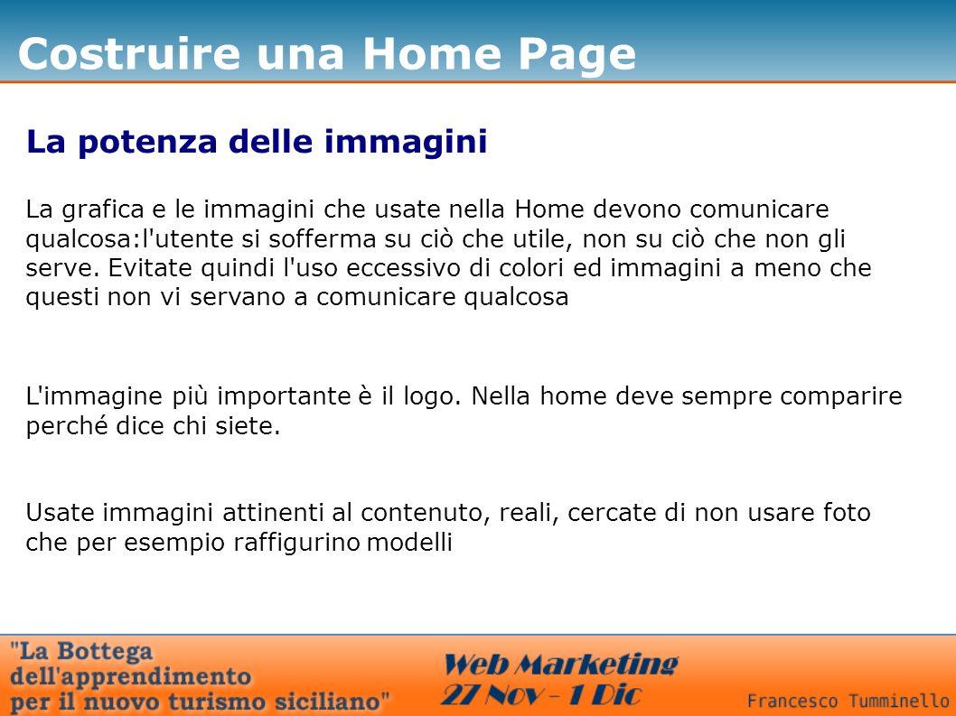 Costruire una Home Page Voi!!.
