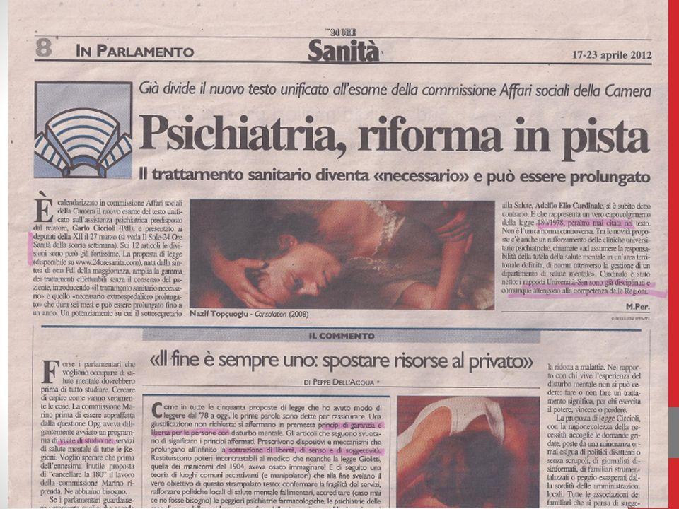 La recovery ed il Trattamento Extra-Ospedaliero Prolungato.