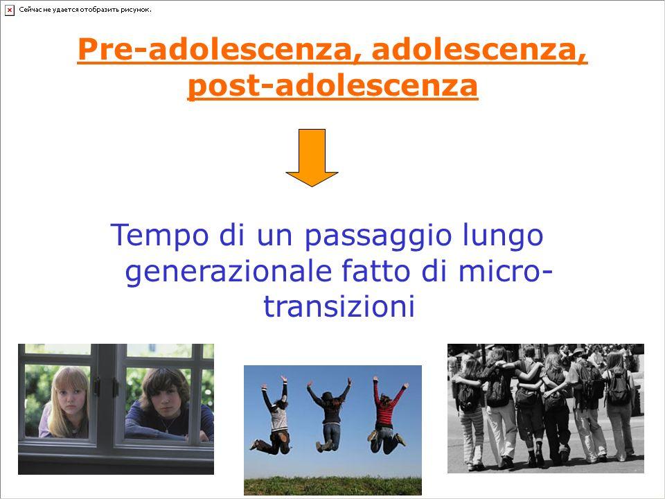 Pre-adolescente Giovane-adulto Adulto Adolescente Adolescens Adultus