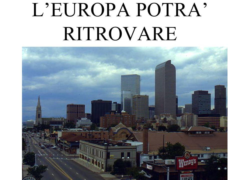 LEUROPA POTRA RITROVARE