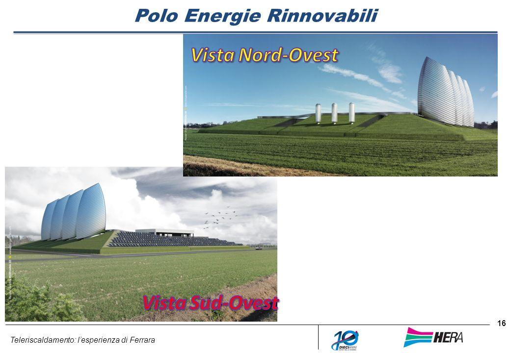 Teleriscaldamento: lesperienza di Ferrara 16 Polo Energie Rinnovabili