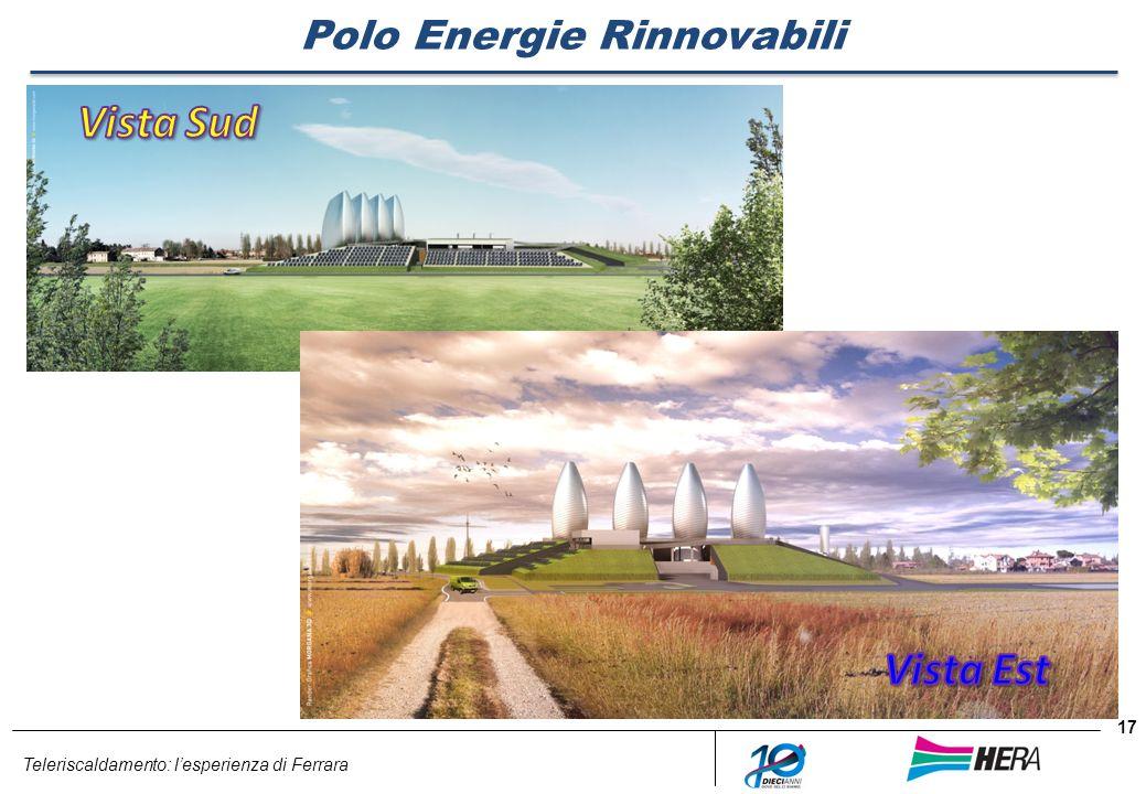 Teleriscaldamento: lesperienza di Ferrara 17 Polo Energie Rinnovabili