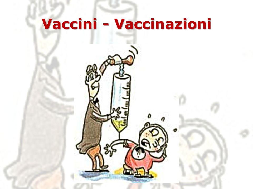 VACCINI La vaccinazione è un fondamentale intervento di Sanità Pubblica, che si prefigge di proteggere sia l individuo che la comunità.