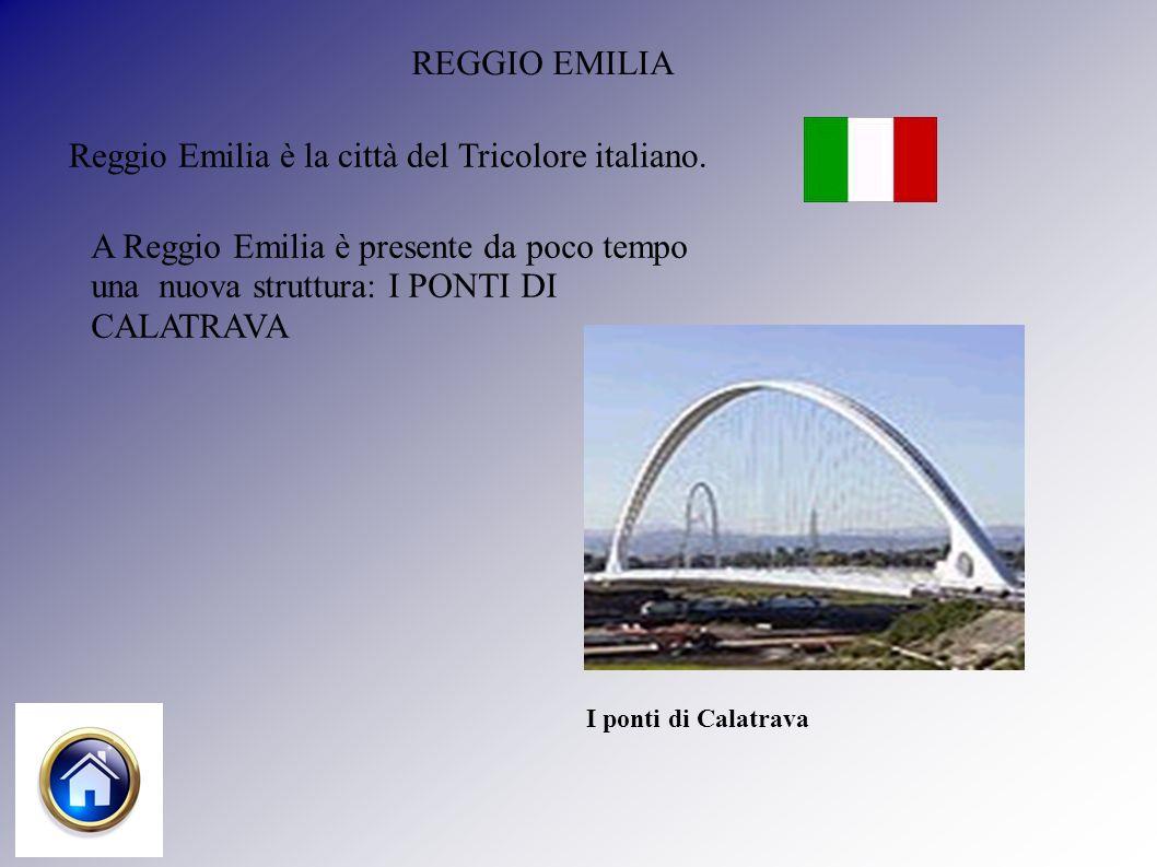 REGGIO EMILIA Reggio Emilia è la città del Tricolore italiano.