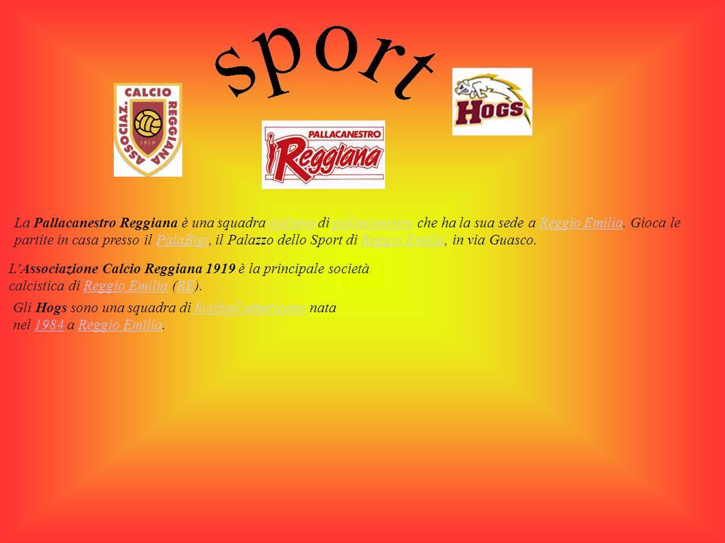 La Pallacanestro Reggiana è una squadra italiana di pallacanestro che ha la sua sede a Reggio Emilia.