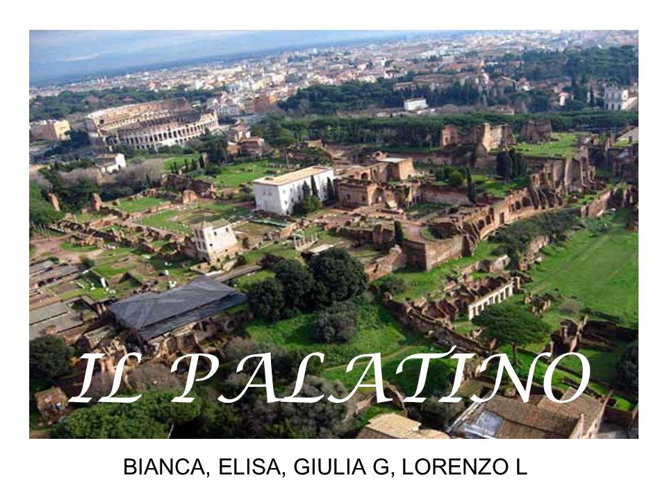 BIANCA, ELISA, GIULIA G, LORENZO L IL PALATINO