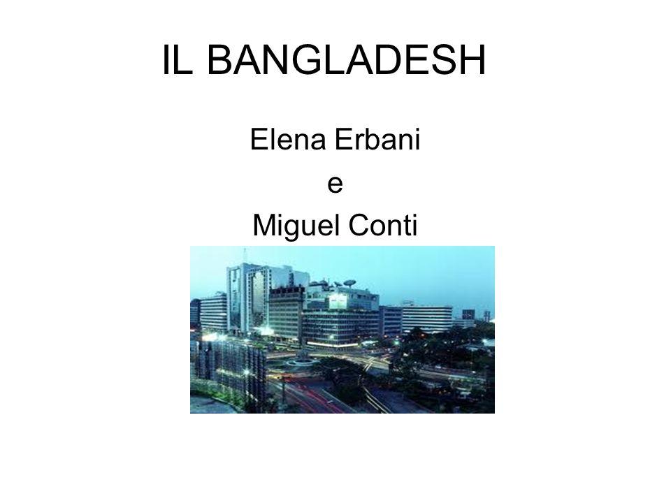IL BANGLADESH Elena Erbani e Miguel Conti