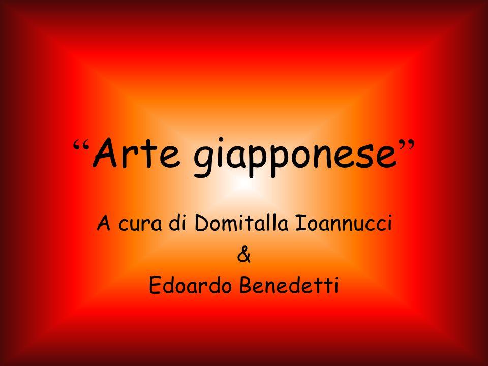 Arte giapponese A cura di Domitalla Ioannucci & Edoardo Benedetti