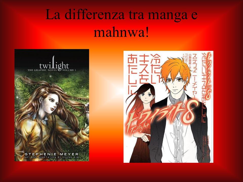 La differenza tra manga e mahnwa!