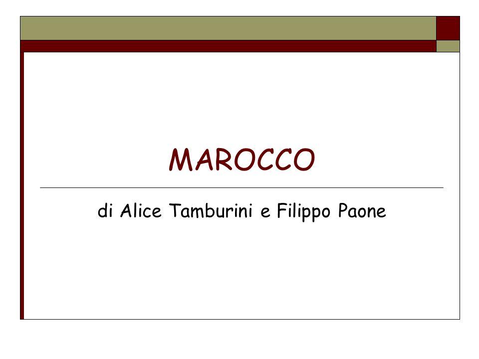 MAROCCO di Alice Tamburini e Filippo Paone