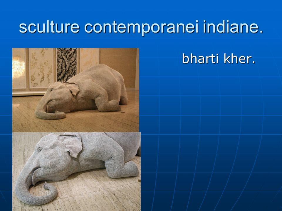 sculture contemporanei indiane. bharti kher. bharti kher.