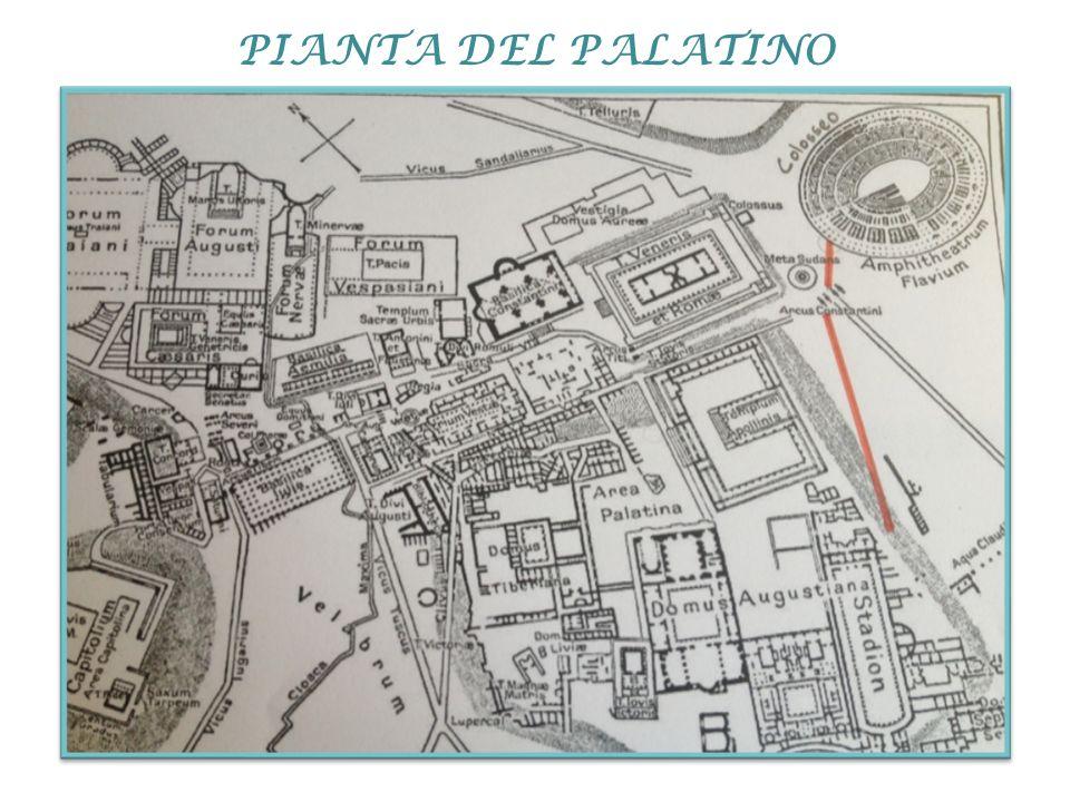 PIANTA DEL PALATINO