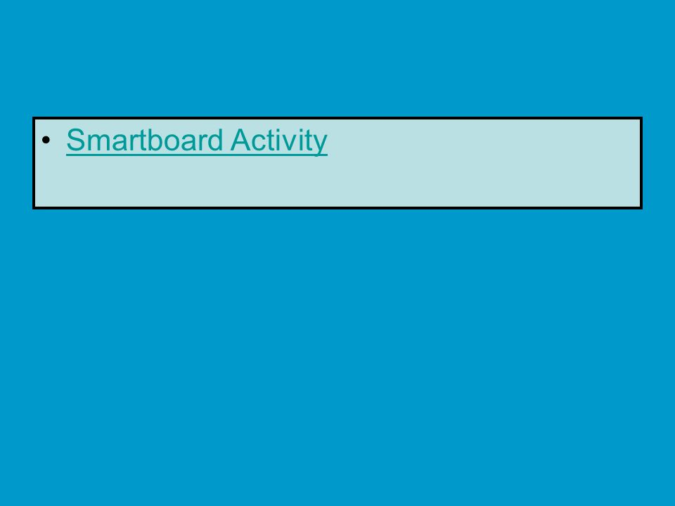 Smartboard Activity