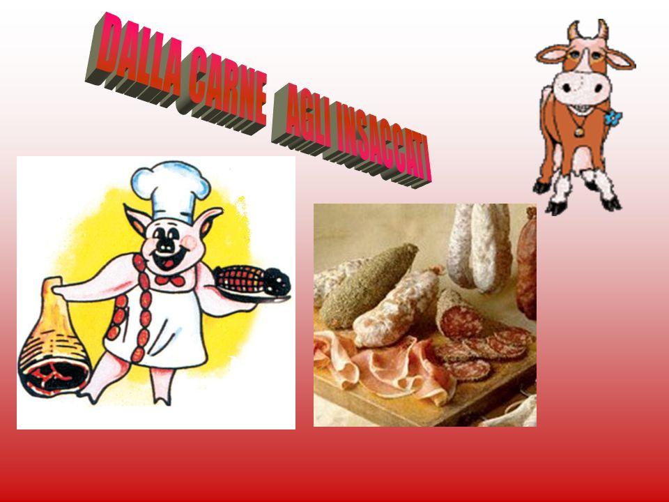 -cosa sono gli insaccaticosa sono gli insaccati -la storiala storia -materie primematerie prime -fasi di produzionefasi di produzione -i principali tipii principali tipi -salumi da cuoceresalumi da cuocere -il maiale in tavolail maiale in tavola -nutriti dal salamenutriti dal salame -finefine
