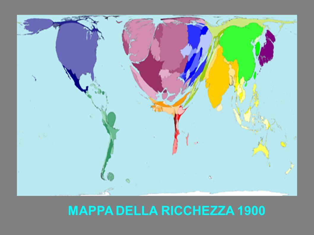MAPPA DELLA RICCHEZZA 1900