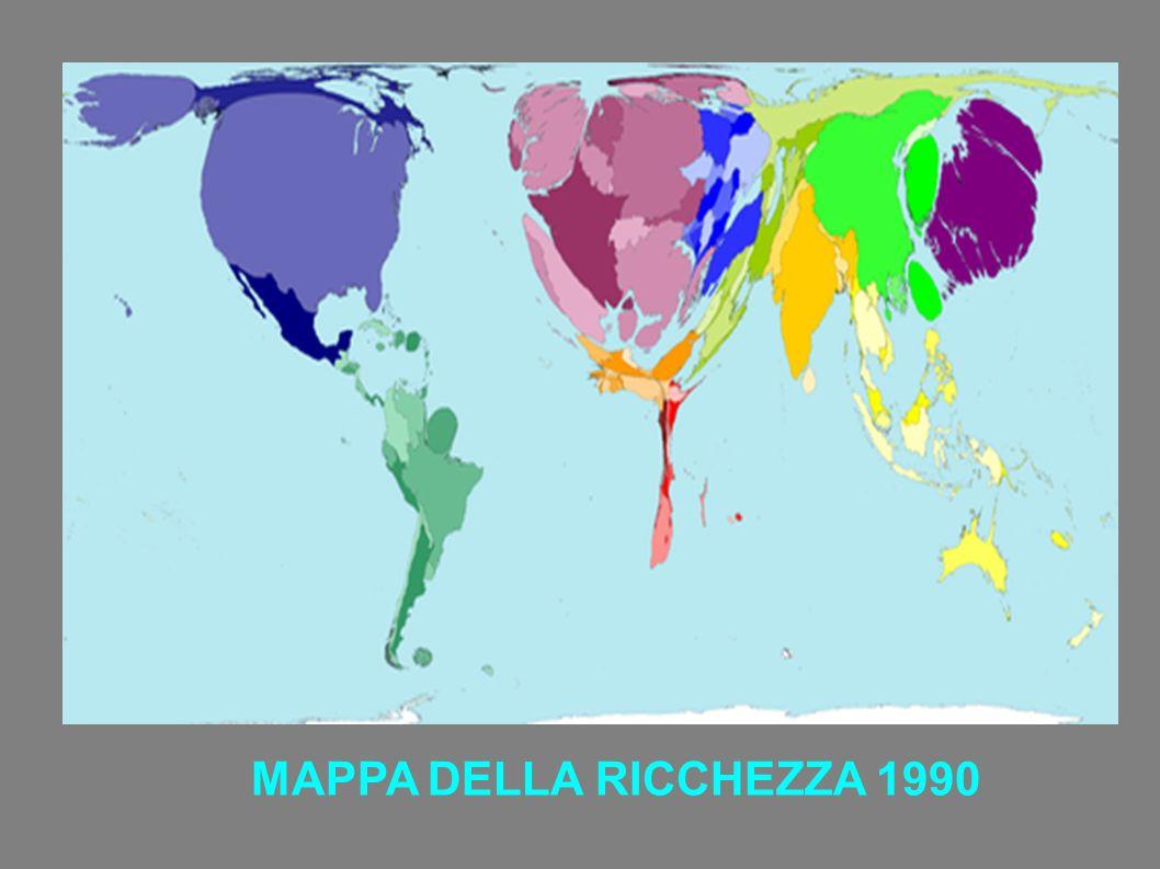 MAPPA DELLA RICCHEZZA 1990
