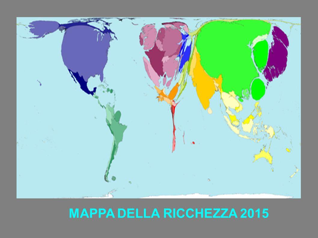 MAPPA DELLA RICCHEZZA 2015
