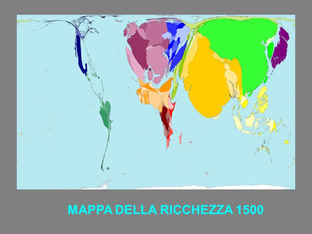 MAPPA DELLA RICCHEZZA 1500