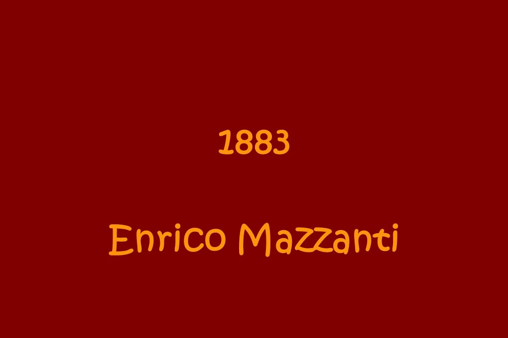 1883 Enrico Mazzanti