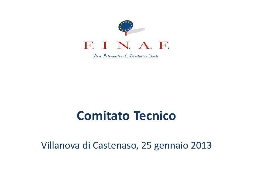 Villanova di Castenaso, 25 gennaio 2013 Calendario prossimi incontri Comitato Tecnico F.In.A.F.